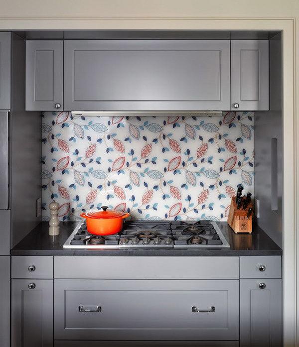 30 Amazing Design Ideas For A Kitchen Backsplash: 10+ Creative Kitchen Backsplash Ideas