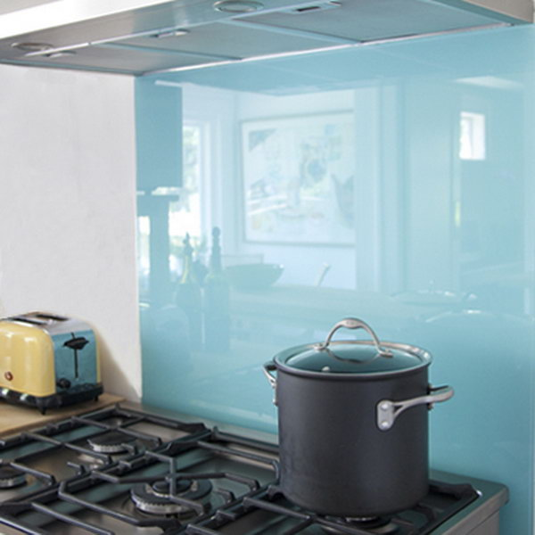 paint glass for kitchen backsplash not only protect the walls from
