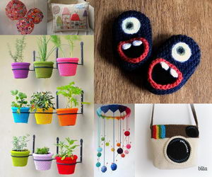 knitting project ideas collage