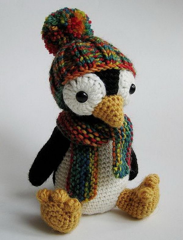 Knitting Penguin. Cool Knitting Project Ideas