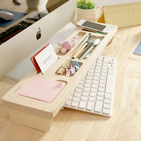 office desk organization ideas. Creatively Organized Home Office Boosts Your Mood And Make You More Productive Desk Organization Ideas W
