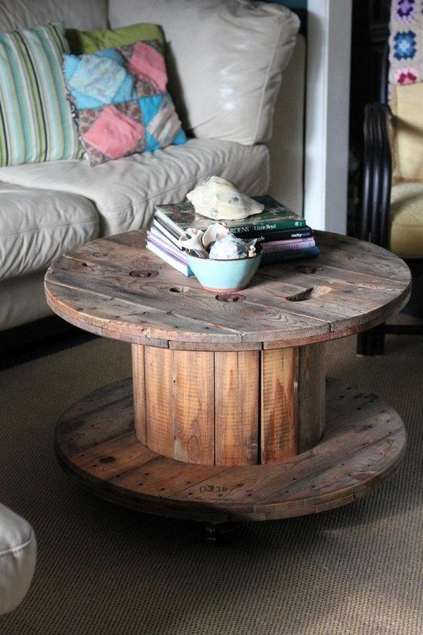 Pallet Ottoman Coffee Table