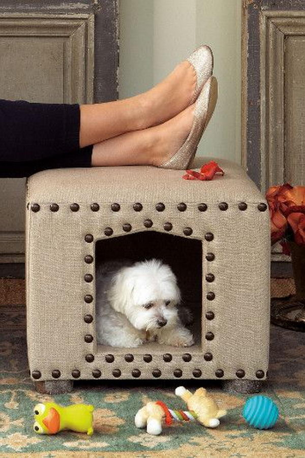 Pet Bed Ottoman.