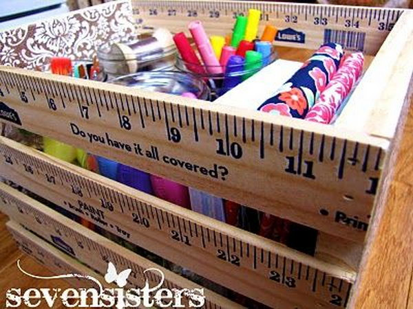 10+ Creative Ruler Crafts - Hative