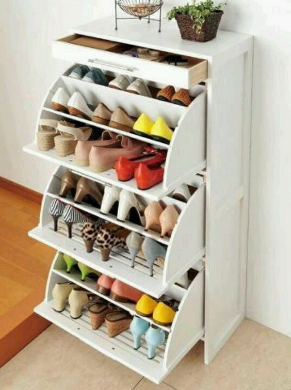 Creative Shoe Storage 15 Creative Shoes Storage