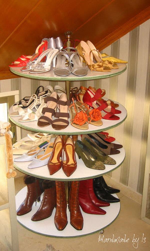 15 Creative Shoes Storage Ideas Hative