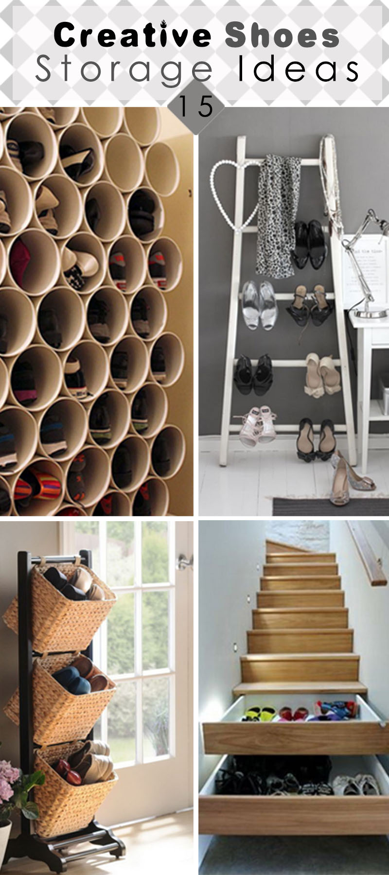 15 Creative Shoes Storage Ideas - Hative