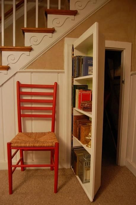 10 clever stairs storage ideas hative for Hidden storage ideas