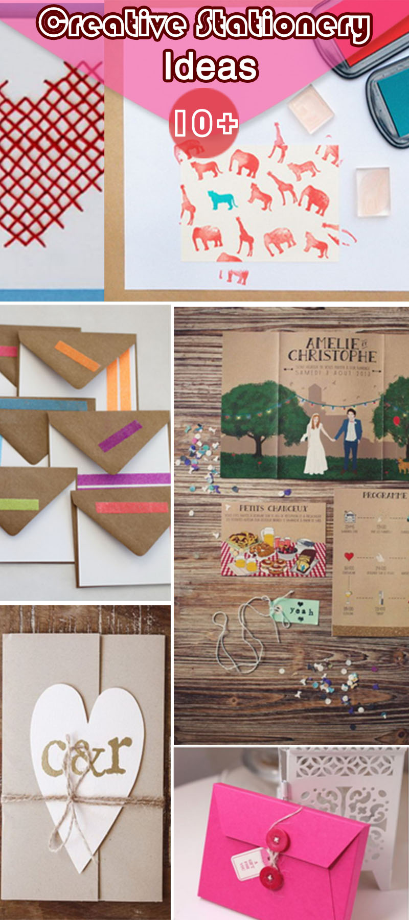 10+ Creative Stationery Ideas - Hative