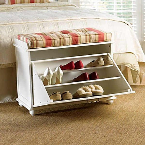 15 Creative Diy Storage Benches Hative