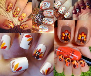 30 Cool Thanksgiving and Fall Nail Designs , Hative