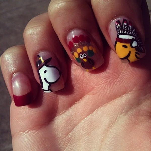 Nail designs for fall easy cute easy fall nail art designs ideas view images cool thanksgiving and fall nail designs hative prinsesfo Choice Image