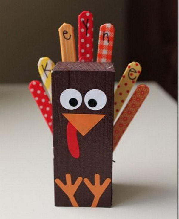 Fun And Creative Thanksgiving Place Cards Hative