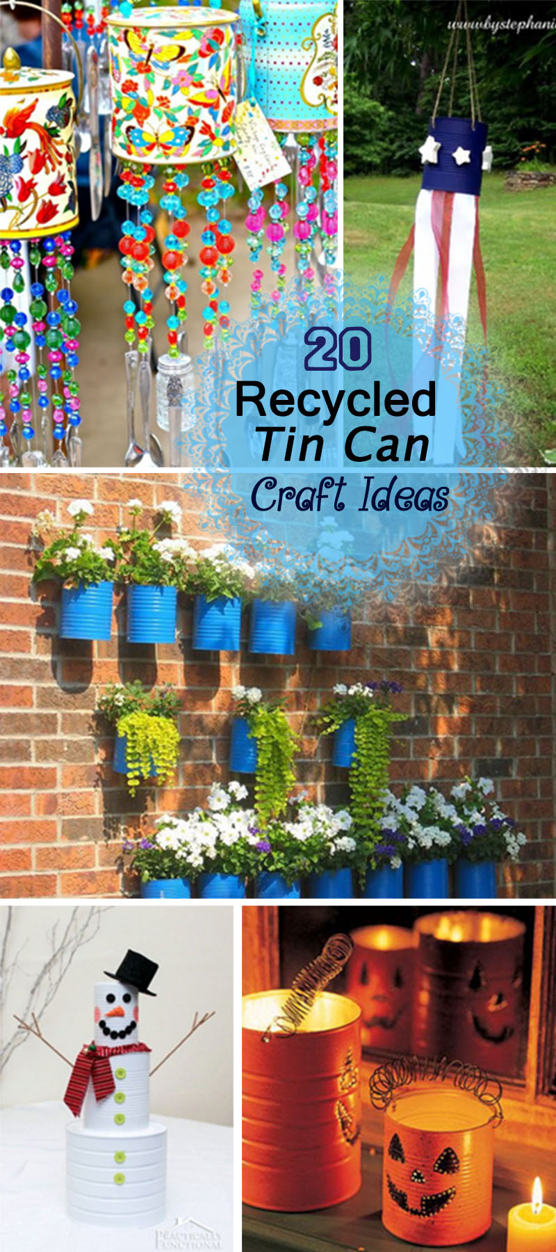eco craft ideas 20 recycled tin can craft ideas hative 1942