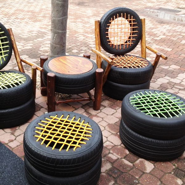 20 creative ways to repurpose old tires hative