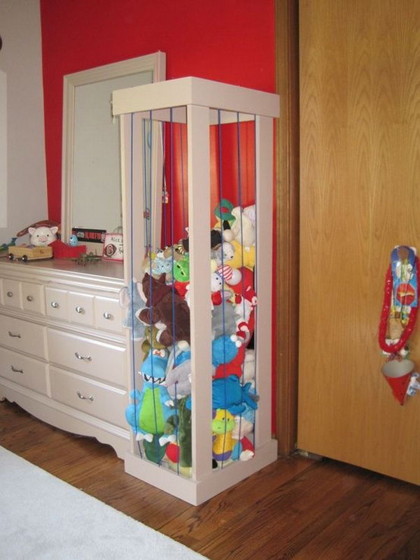 Gentil Stuffed Toy Storage,