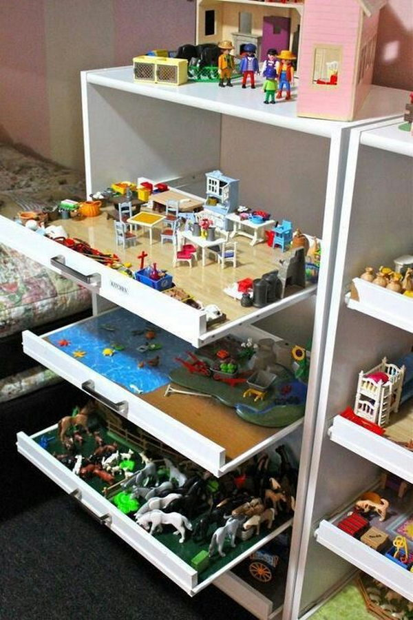 Superieur Drawer Toy Storage,