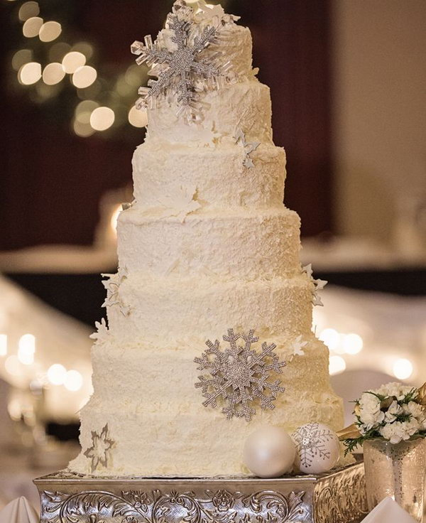 winter themed wedding cakes photo gallery 15 creative winter wedding ideas hative 27549