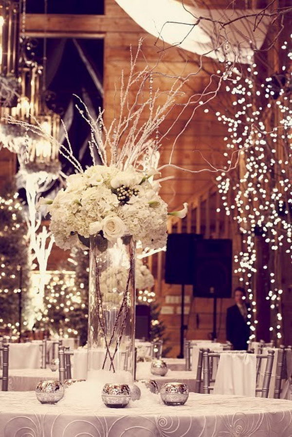 Wedding Decoration Designs : Creative winter wedding ideas hative
