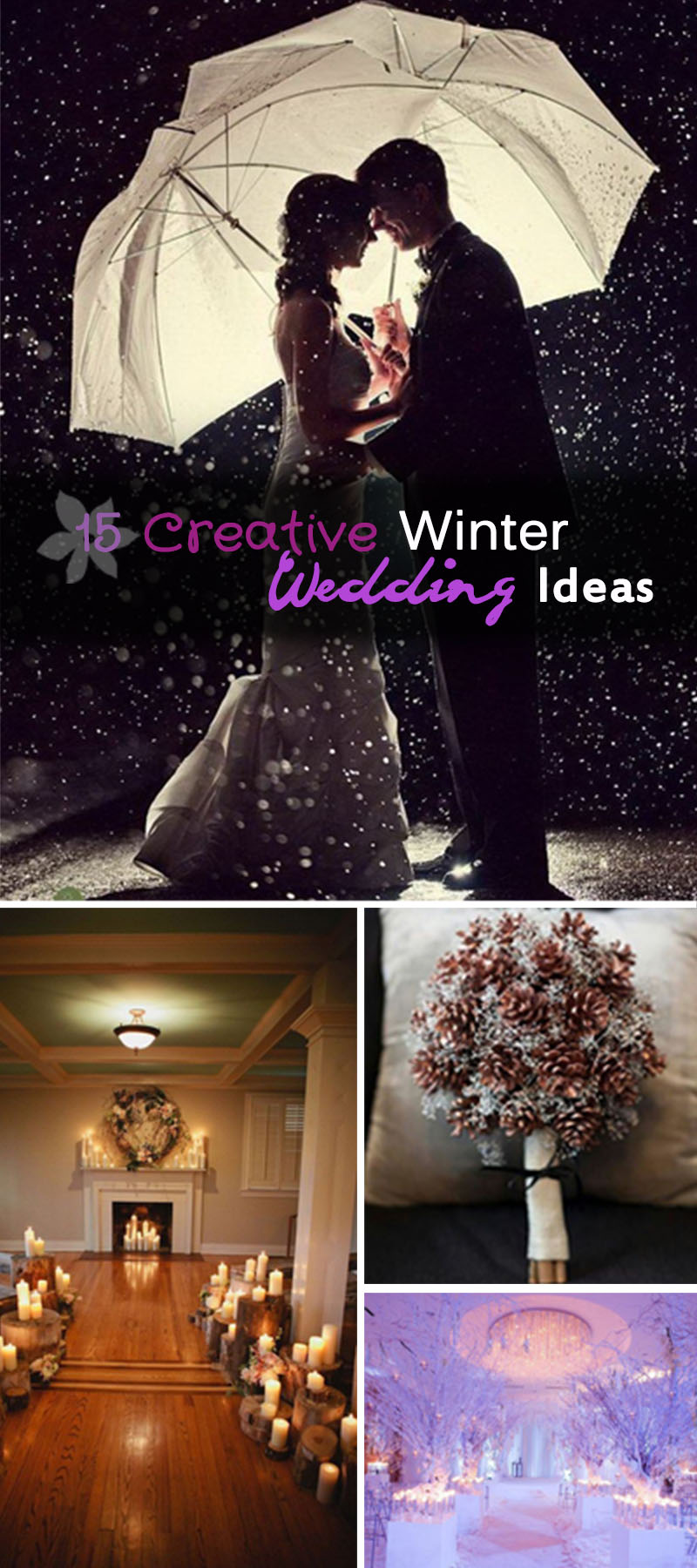 Creative Winter Wedding Ideas!