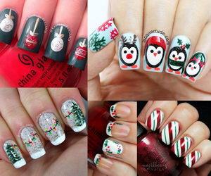 christmas-nail-art-collage