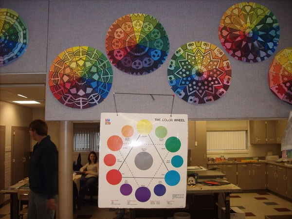 Color Wheel Project Ideas What a Cool Art Project Based