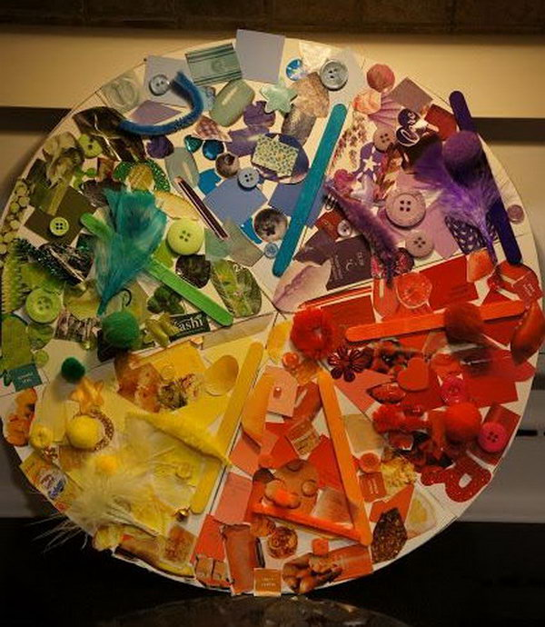 Color Wheel Project Ideas You Can Also Mount This Color