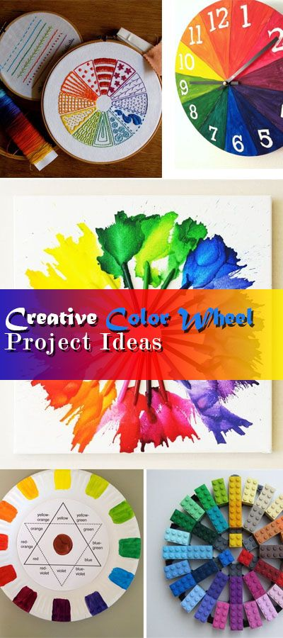 Creative Color Wheel Project Ideas Hative
