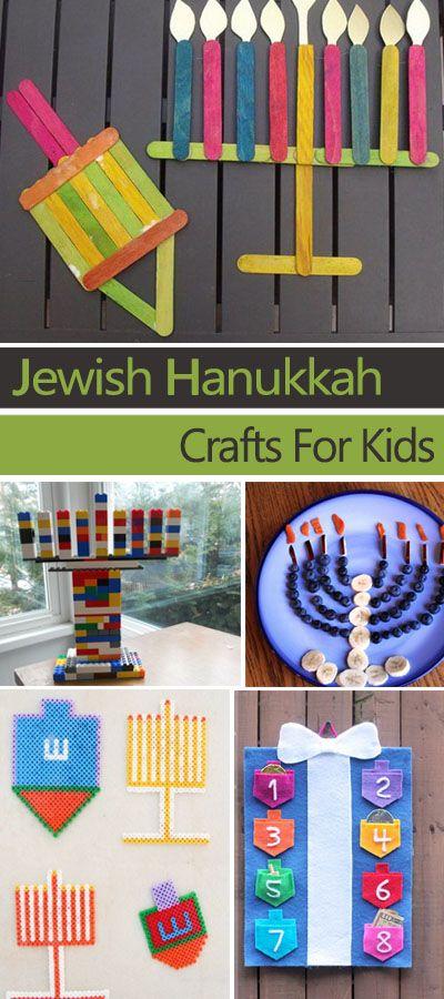 Jewish Hanukkah Crafts For Kids Hative
