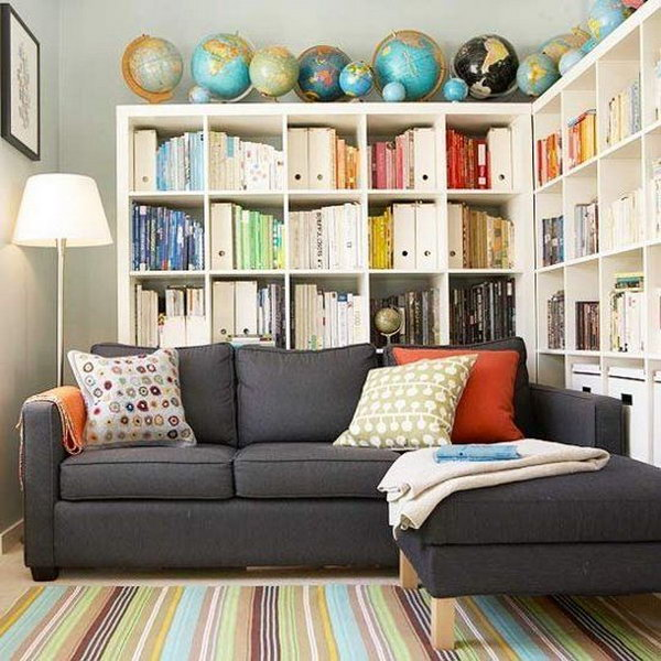 cool home library ideas hative