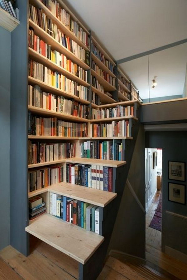 Cool Home Library Ideas. Decorate your home library so it becomes your  private sanctuary where