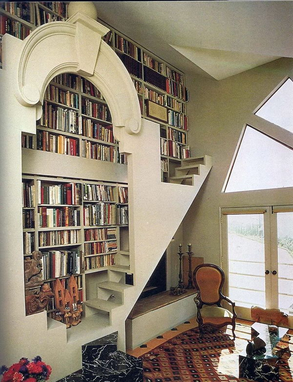 Home Library Decorating Ideas: Cool Home Library Ideas