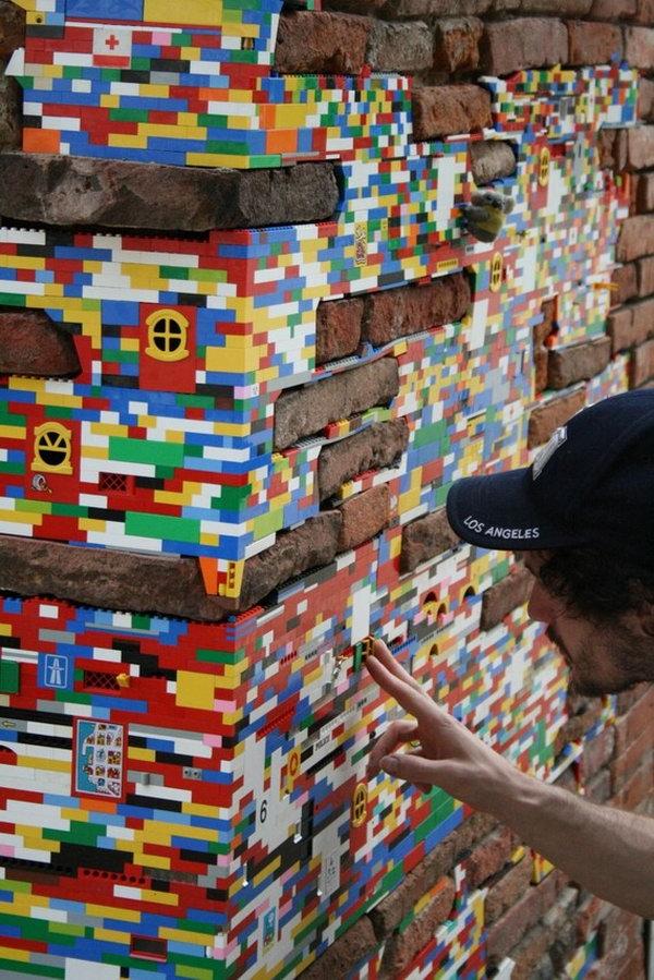 Artist Jan Vormann Uses Legos To Repair Old Buildings Hative