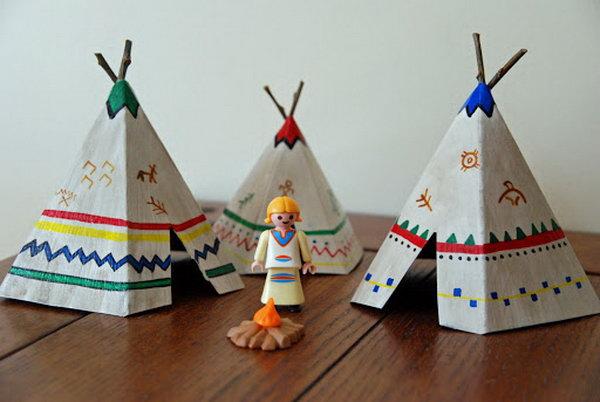 Teepee Crafts For Preschoolers