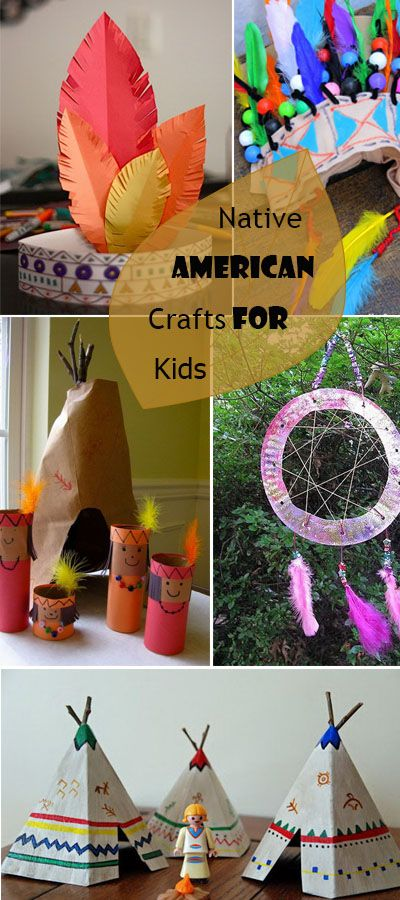 Native American Crafts For Kids!