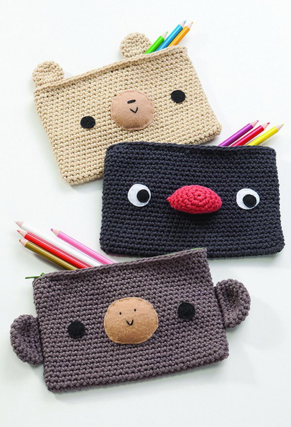 Cute Crocheting Pencil Case. There's nothing like a cool pencil case ...