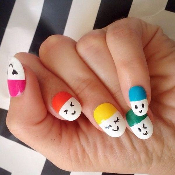 Smiley Face Nails Designs Best Nail 2018