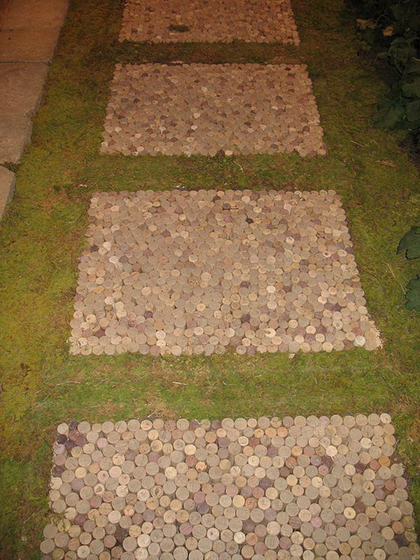 Pics photos stepping stones ideas - Designs for stepping stones ...