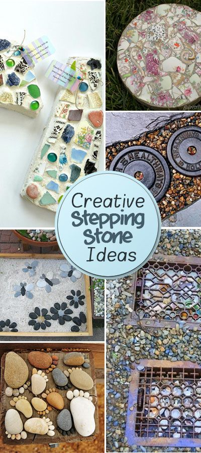 Creative Stepping Stone Ideas For Garden Decorations!