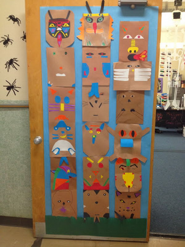 cool totem pole craft projects for kids