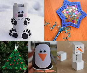 winter-themed-crafts-collage