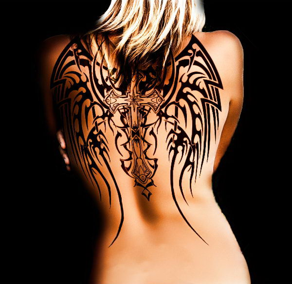 Cool Angel Tattoo Ideas and Designs. Memorialize a loved one, indicate a spiritual commitment or simply symbolize innocence and peace.