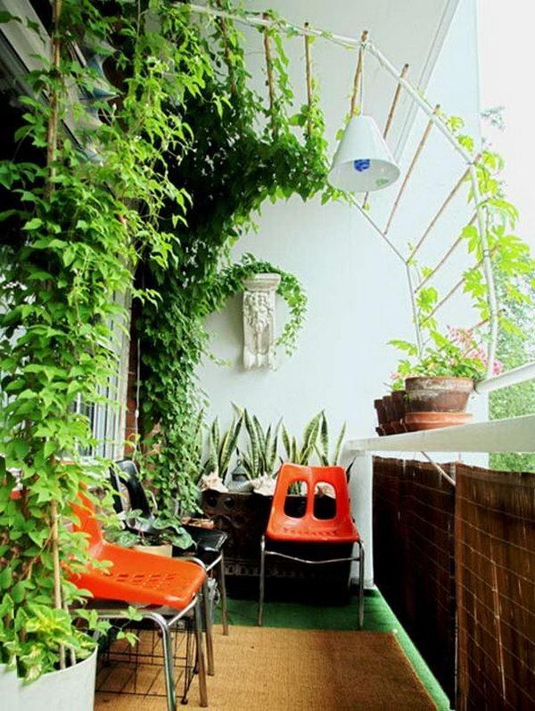 Balcony Garden Design Ideas - Hative