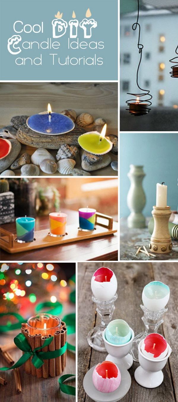Cool DIY Candle Ideas and Tutorials!
