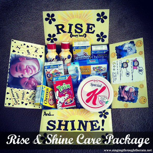 Rise and Shine Care Package,