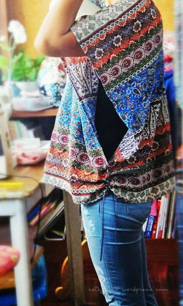 Fashionable DIY Clothes Ideas - Hative