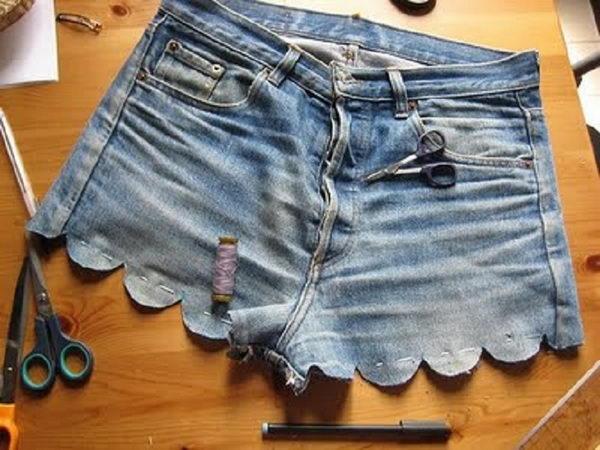 Шорты из джинсов своими руками фото
