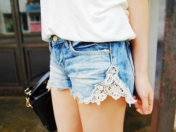 20 Cool DIY Shorts Ideas for Girls - Hative