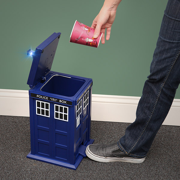 The TARDIS Wastebin Would Make A Great Gift If You Like Doctor Who Or Not.