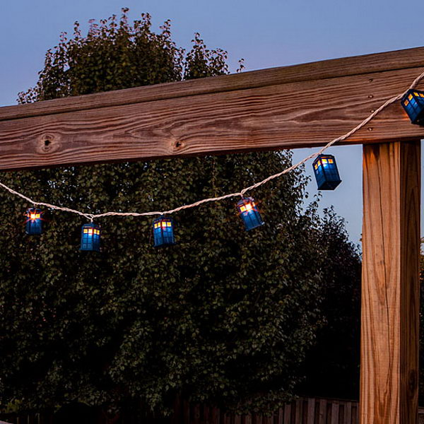 These string Lights are perfect for any occasion, especially parties where you are watching a Doctor Who marathon.